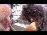 Хлеб. Рабочий момент съемок клипа «Паутинка».