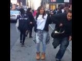 Первое посещение тайм сквер в Нью-Йорке